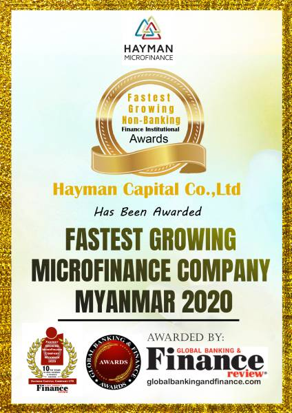 Hayman Microfinance Wins Fastest Growing Microfinance Company Myanmar…