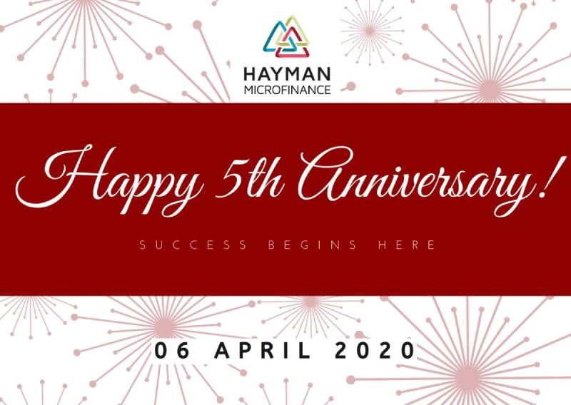 Hayman microfinance Celebrates Its 5th Anniversary