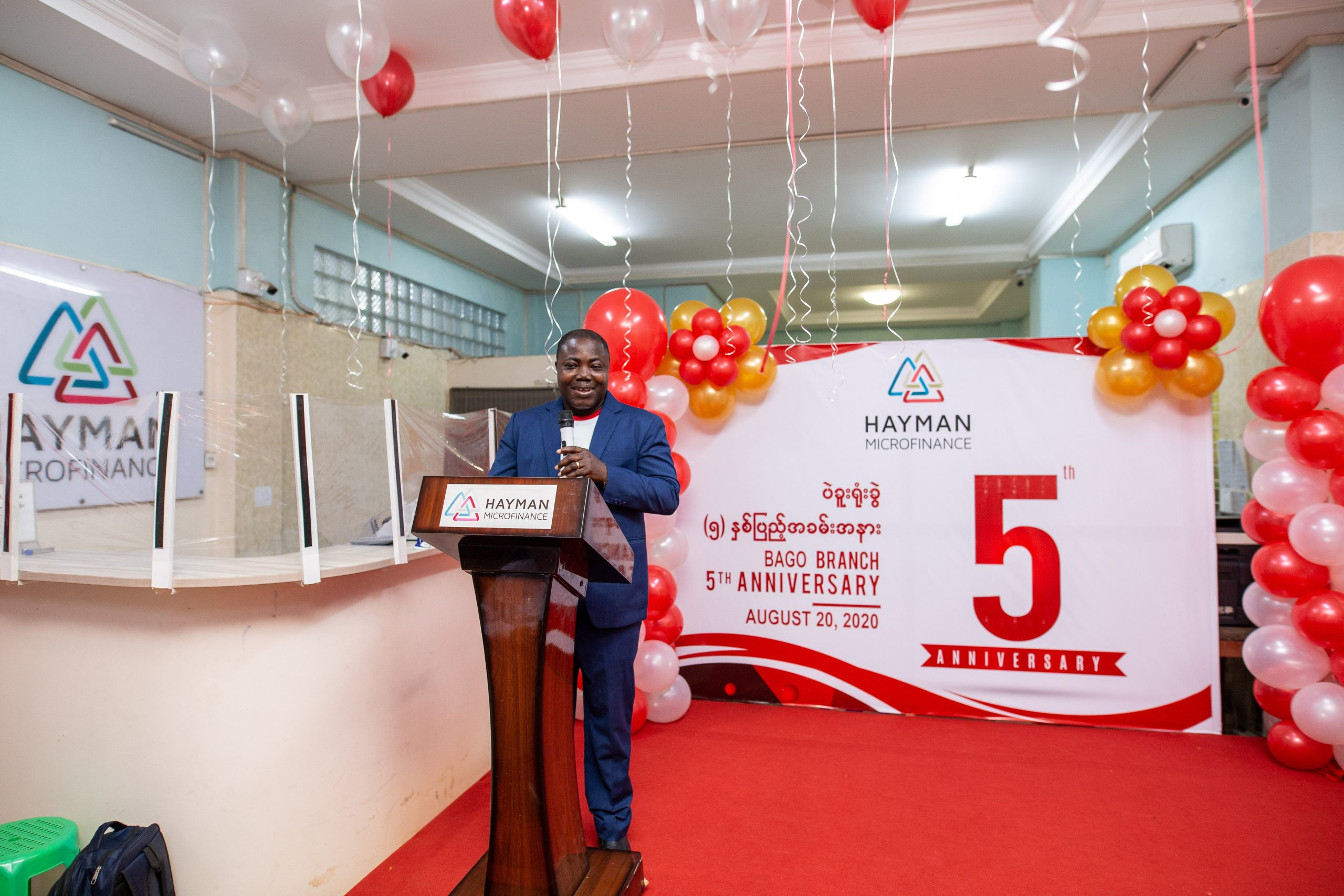 HAYAMN MICROFINANCE CELEBRATES 5TH ANNIVERSARY OF BAGO BRANCH