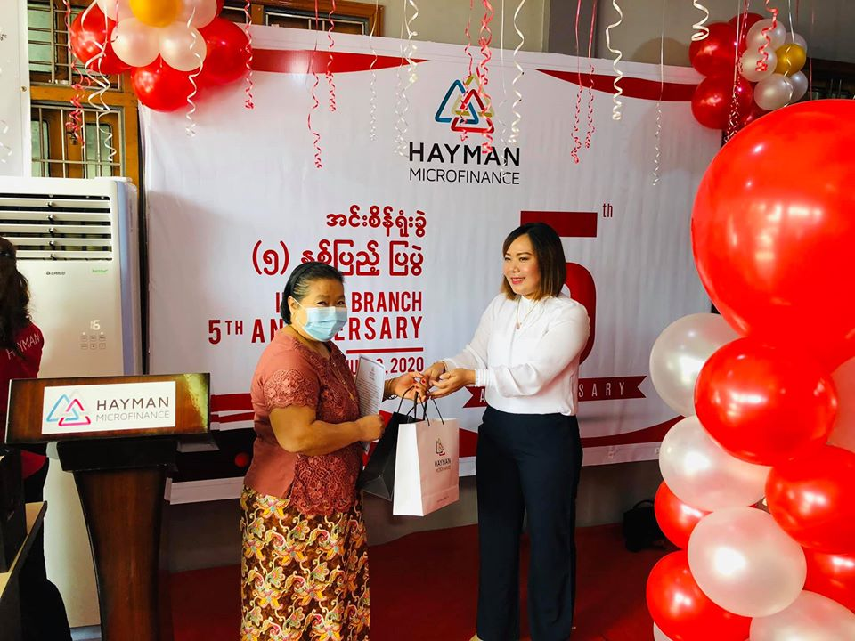 HAYMAN MICROFINANCE CELEBRATED 5TH ANNIVERSARY OF INSEIN BRANCH